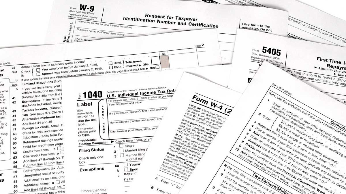 IRS Forms, Instructions & Publications - A Tax Preparation
